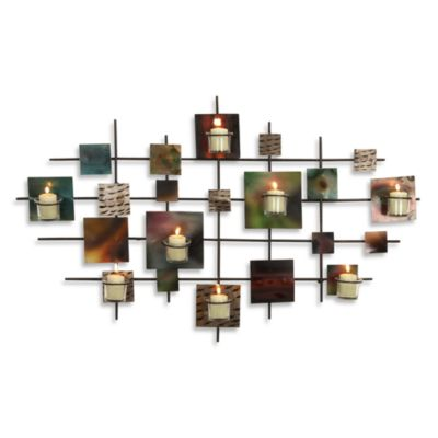 Wall Sconces Bed Bath And Beyond : Metal Squares Wall Sconce - Bed Bath & Beyond