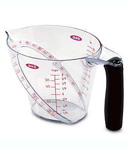Taza medidora de tritan OXO Good Grips® angulada, 500 mL