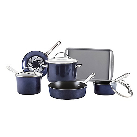 Farberware Luminescence Nonstick 15-Pc. Cookware Set