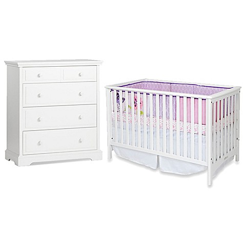 Child Craftu0026trade; London Nursery Furniture Collection In Matte White