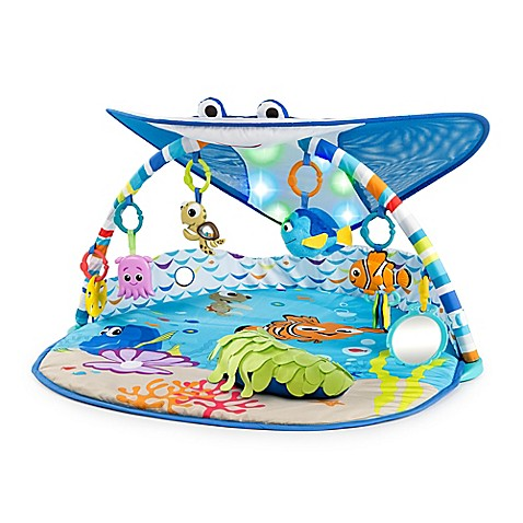 Disney 174 Baby Mr Ray Ocean Lights Activity Gym Buybuy Baby