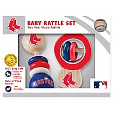 image of MLB Boston Red Sox Rattles (Set of 2)