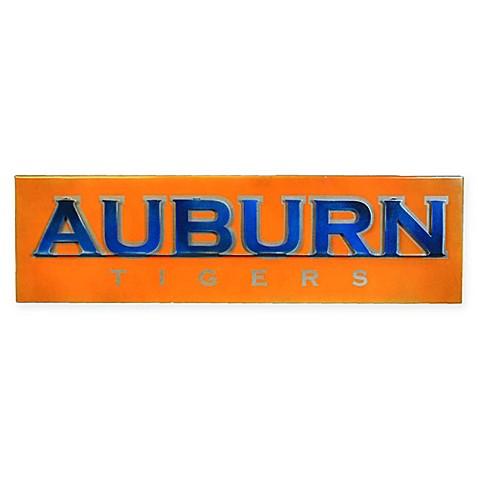 Auburn University 21-Inch x 13-Inch Tigers 3D Vintage Metal Wall Art ...
