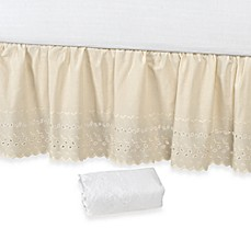 image of Vintage Chic™ Eyelet 18-Inch Bed Skirt