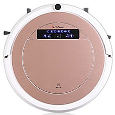 image of iTouchless® UV-C Sterilizer Robot Vacuum Cleaner with HEPA Filter and Mop Kit in Rose Gold