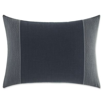 image of ED Ellen DeGeneres Nomad Oblong Throw Pillow in Navy