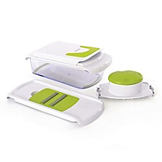 image of BergHOFF® CooknCo Chopper & Slicer in Green/White