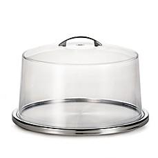 image of Tablecraft® Cake Plate \u0026 Cover Set  sc 1 st  Bed Bath \u0026 Beyond & Cake Plates   Cake Stands   Dessert Servers - Bed Bath \u0026 Beyond