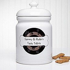 image of Throw Me A Bone 10.5-Inch Treat Jar
