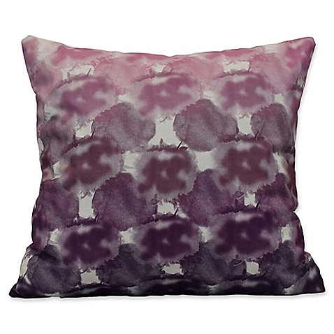Buy E by Design Beach Clouds Geometric Print Square Throw Pillow in Purple from Bed Bath & Beyond