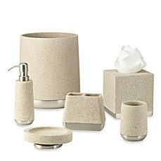 image of Ampersand™ Lafayette Wastebasket in Taupe