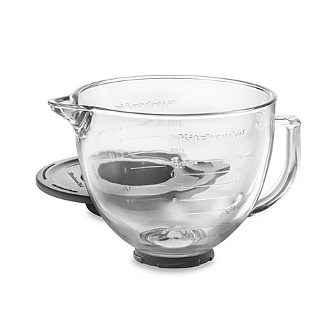 Kitchenaid Reg Gl Bowl For 5 Quart And Tilt Head Stand Mixers