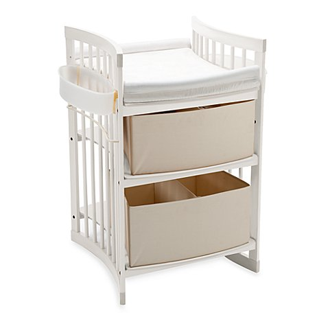 Stokke care changing table in white buybuy baby for Regulation 85 table a
