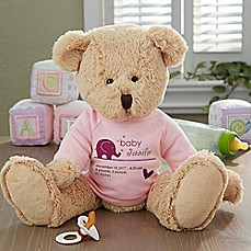 image of New Arrival Baby Teddy Bear in Pink