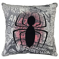 image of Marvel® Spiderman Comic Group Throw Pillow