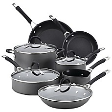 image of Circulon® Momentum™ Hard Anodized Nonstick 11-Piece Cookware Set