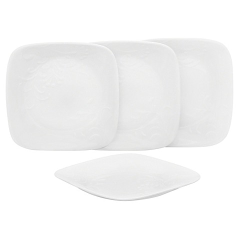 Corelleu0026reg; Boutique Cherish Appetizer Plates (Set ...  sc 1 st  Bed Bath u0026 Beyond & Corelle® Boutique Cherish Appetizer Plates (Set of 4) - Bed Bath ...