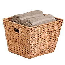 image of Honey-Can-Do® Towel Basket in Natural