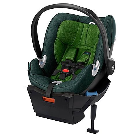 cybex platinum aton q plus infant car seat in green. Black Bedroom Furniture Sets. Home Design Ideas