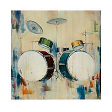 image of Madison Park Drum Set Canvas Wall Art