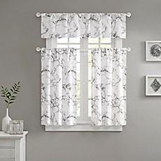 bathroom window curtain.  https s7d1 scene7 com is image BedBathandBeyond