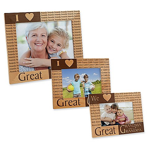 Great Grandparent Picture Frame - Bed Bath & Beyond