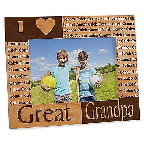 Great grandparents frame