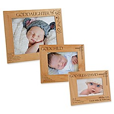 Personalized baby picture frames photo albums engraved picture godchild picture frame negle Image collections
