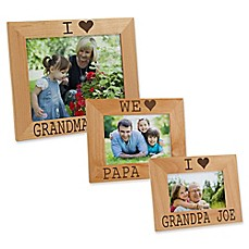 image of I/We Love Him Picture Frame