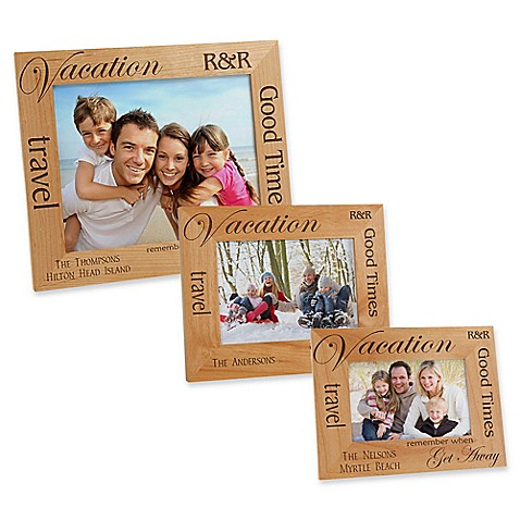 Vacation Memories Picture Frame - Bed Bath & Beyond