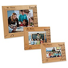 image of Our Teacher Picture Frame