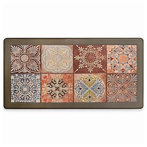 David Burke Cliffside Tile Memory Foam 20 Inch X 39 Inch