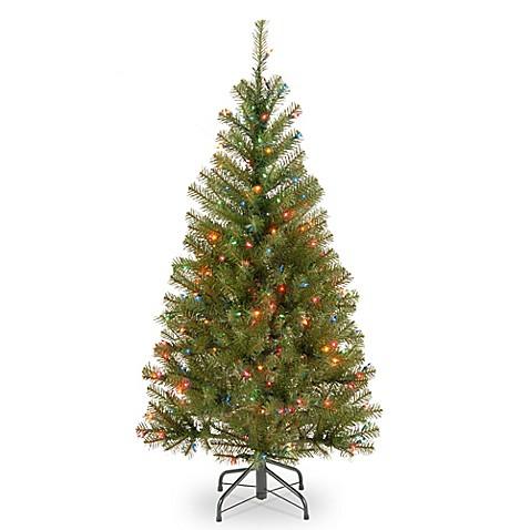 4 1 2 Foot Pre Lit Christmas Trees