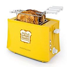 image of Nostalgia™ Electrics Grilled Cheese Sandwich Toaster in Yellow
