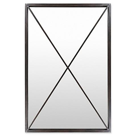 Buy surya aina 60 inch x 40 inch floor mirror in black for Miroir 60 x 40