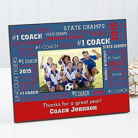 All Star Coach 4-Inch x 6-Inch Picture Frame - Bed Bath & Beyond