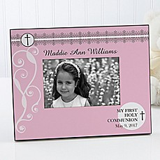image of May God Bless Me 4-Inch x 6-Inch Picture Frame