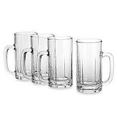 image of Mikasa® Brewmasters 16 1/2-Ounce Beer Mugs (Set of 4)