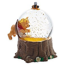 image of Precious Moments For The Love of Hunny Pooh Musical Snow Globe