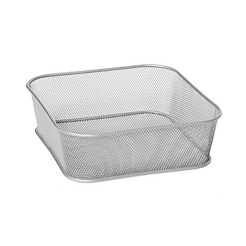 Seville Classics Iron Mesh Storage Basket