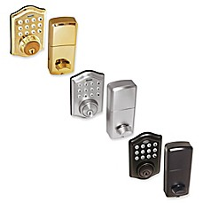 image of Honeywell Electronic Entry Deadbolt Door Lock with Keypad