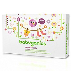 image of Babyganics® 120-Count Dryer Sheets in Lavender Scent