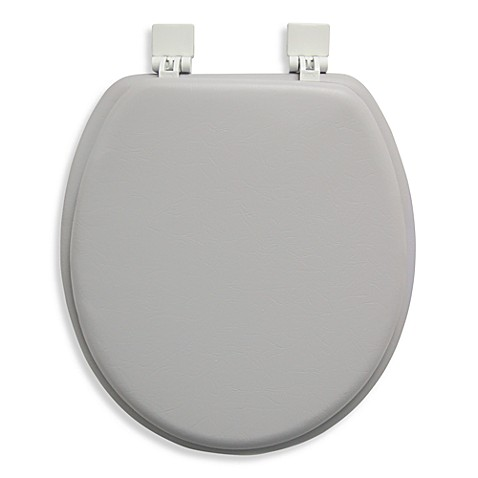 Ginsey Cushioned Standard Toilet Seat
