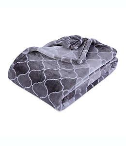Frazada de poliéster con estilo degradado VelvetLoft® Berkshire Blanket® color gris