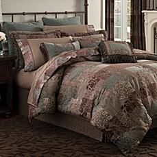 image of Croscill® Galleria Comforter Set in Chocolate