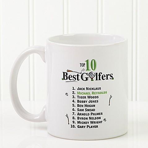 Top 10 golfers coffee mug bed bath beyond Top 10 coffee mugs