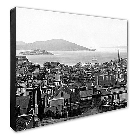 Buy san francisco 20 inch x 24 inch canvas wall art in for Buy art san francisco