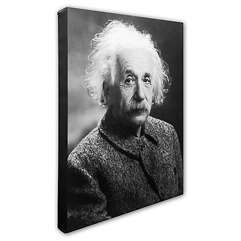 Trademark Fine Art Albert Einstein Photo Wall Art - Bed Bath & Beyond