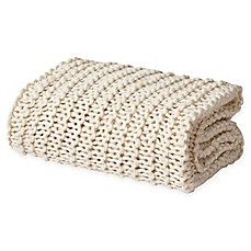 image of Oscar/Oliver Luca Chunky Knit Throw Blanket
