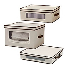 image of Household Essentials® Storage Box Collection